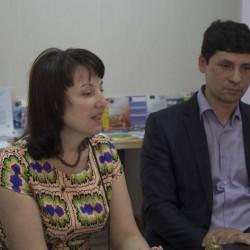 Оксана Алистратова, представитель ОО «Взаимодействие» (г.Тирасполь)